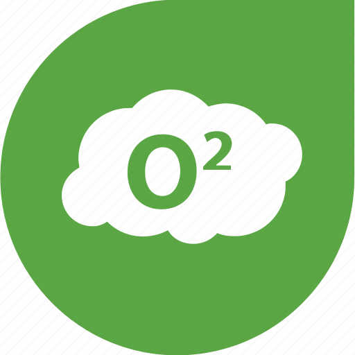 air, cloud, eco, oxygen, pollution icon