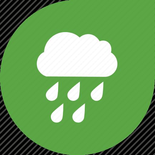 cloud, eco, rain, water icon
