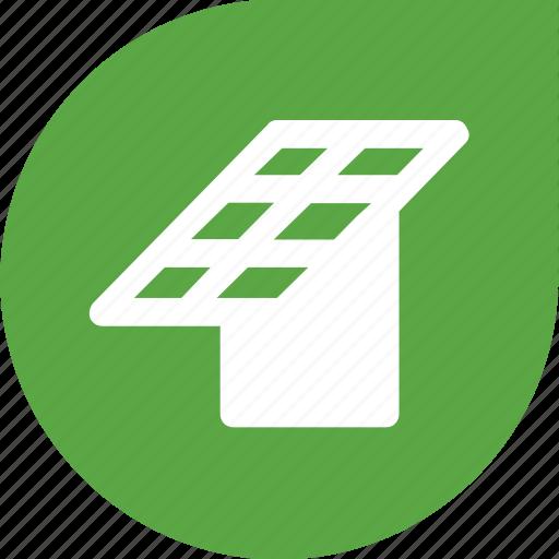 battery, eco, ecology, solar icon