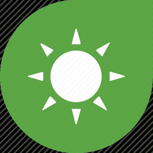 eco, protection, sun icon