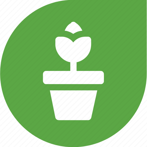 eco, flower, green, plant, protection icon