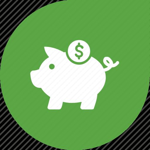 eco, green, guardar, money, save, saving icon