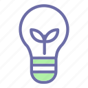 green, energy, recycle, environment, bulb icon
