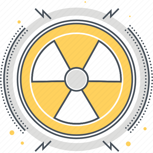 atom, electric, energy, nuclear icon