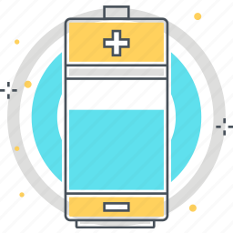 battery, charger, electric, equipment icon