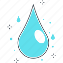 drop, ecology, efficiency, water icon