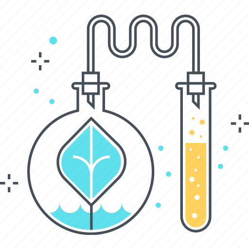 bio, chemistry, green, leaf, research, science icon