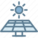 ecology, energy, green energy, solar energy, solar panel, solar power, sun icon