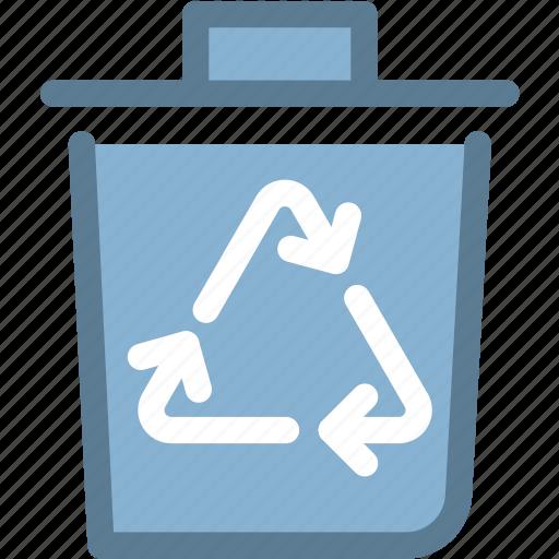 bin, eco, ecology, energy, green, recycle bin icon