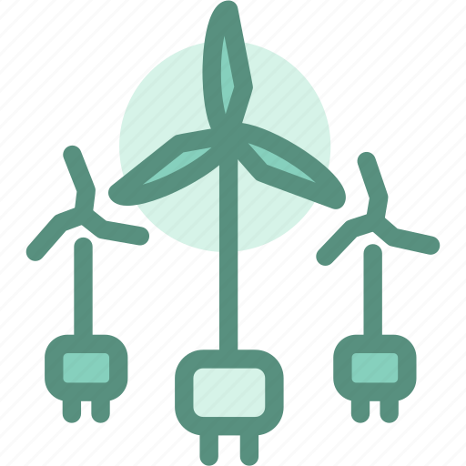 Ecology, energy, green, plug, windmill, windturbine icon - Download on Iconfinder