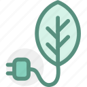 eco, ecology, energy, environment, green, green energy, plug icon