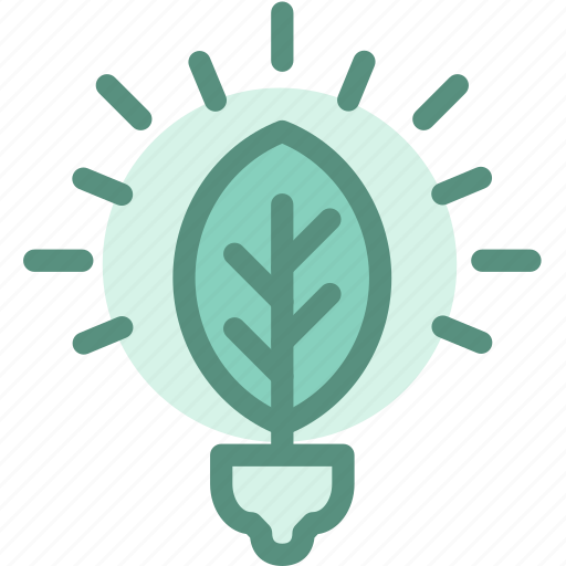 ecology, energy, fluorescent light bulb, green, green energy, renewable, sustainability icon