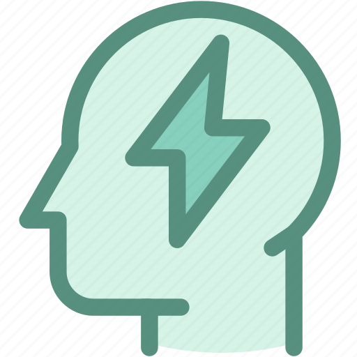 ecology, energy, energy brain, green, human, power, thought icon