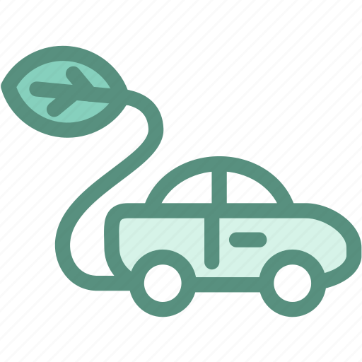 Eco car, ecology, energy, environment, green, vehicle icon - Download on Iconfinder