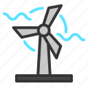 building, ecology, energy, green, power, windmill icon
