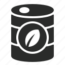 bio, can, ecology, gasoline, green, jerrycan icon