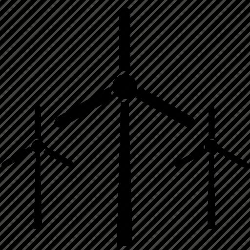 environment, environmental, environmentalism, mill, power, wind, windmill icon