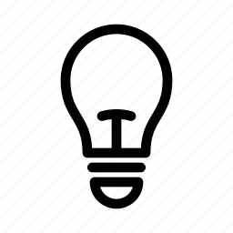 bright, bulb, electric, electricity, energy, idea, light icon