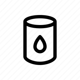 can, drop, oil, recipient icon