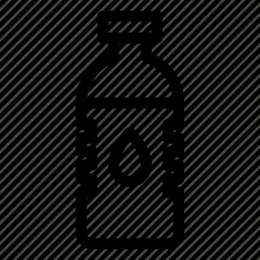 Bottle, drop, hidration, lid, liquid, plastic, water icon - Download on Iconfinder