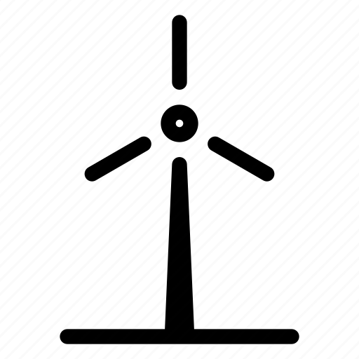 ecologic, electric, electricity, energy, turbine, wind, windmill icon