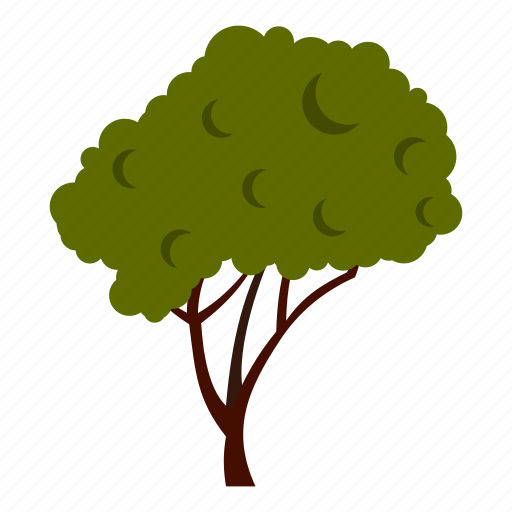 Crown, eco, ecology, fluffy, leaf, nature, tree icon - Download on Iconfinder