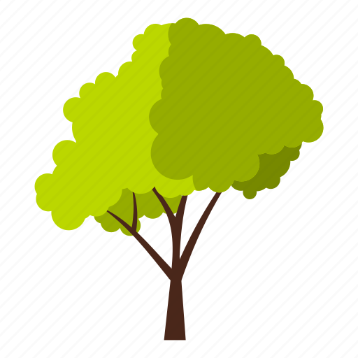 crown, eco, ecology, fluffy, leaf, nature, tree icon
