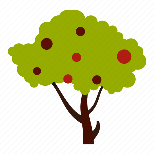 eco, ecology, fruits, leaf, nature, tall, tree icon