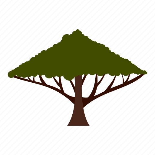 crown, eco, ecology, large, leaf, nature, tree icon