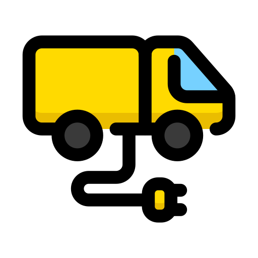 car, electric, electrocar, truck, vehicle icon