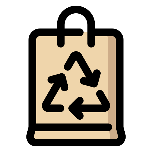 package, packet, recycable, recycle icon