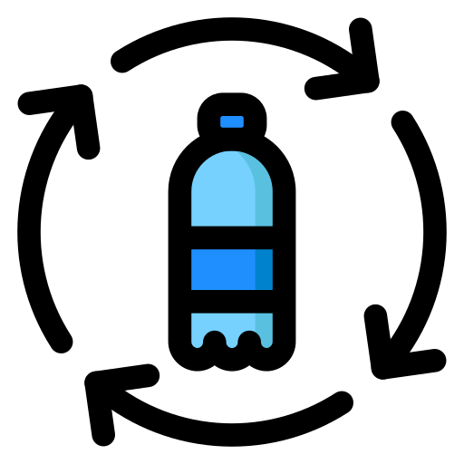 bottle, plastic, recycle, recycling icon