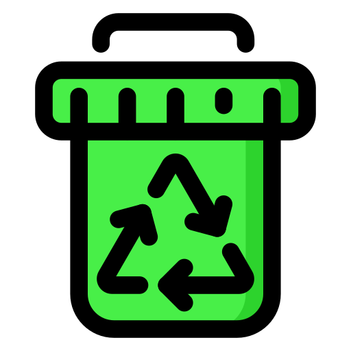 bin, recycle, recycling, sorting, waste icon