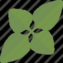 food, greenery, plant, sheet icon
