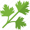 greenery, plant, sheet, stalk icon