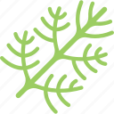 food, greenery, stalk, vegan, vegetables icon