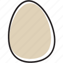 chicken, egg icon