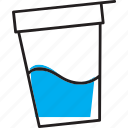cup, gallipot, jogurt, termix icon