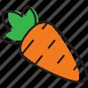 carrot, fruit