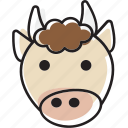 animal, beef, cow, steak icon