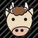 animal, beef, cow, steak icon