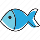 animal, fish, salmon, seafood, tuna icon