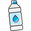 bottle, drink, nonalcoholic, water icon