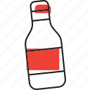 bottle, diary, drink, milk icon
