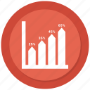 bar, graph, growth, growth chart icon