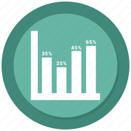 business, chart, infographic, statistic icon