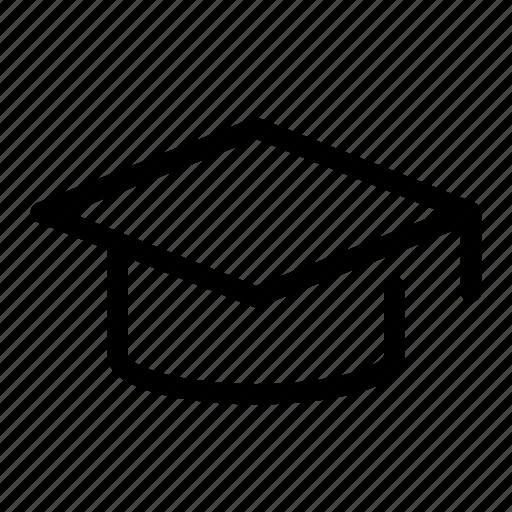 alumni, board, education, graduate, mortar icon