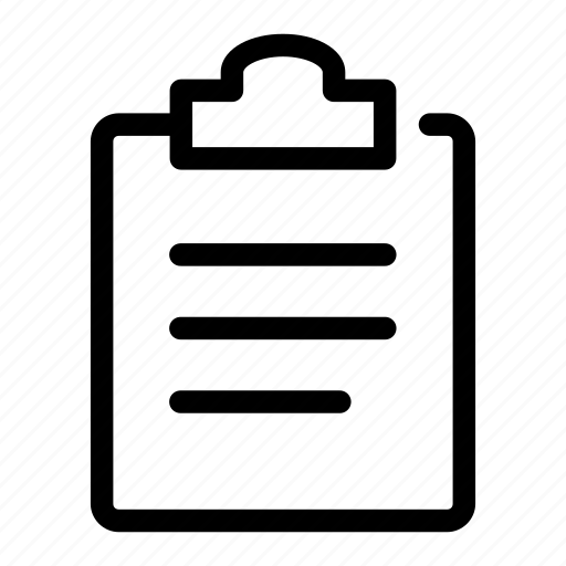 clipboard, doctor, health, note, paste icon