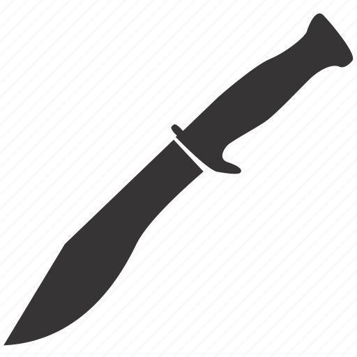 cold, knife, machete, steel, weapon icon