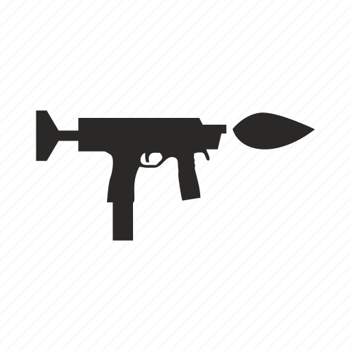 army, automatic, gun, uzi, weapon icon